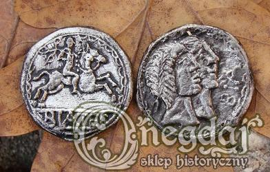 Biatec, celtycka tetradrachma. Moneta. Replika.